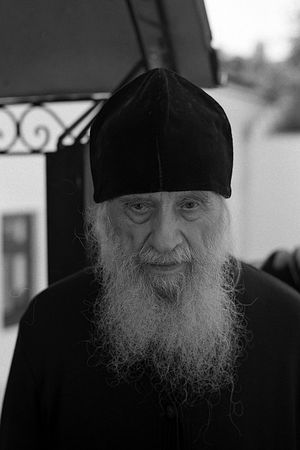 Archimandrite Avraamy (Kuyava), father-confessor of the Kiev Caves Lavra