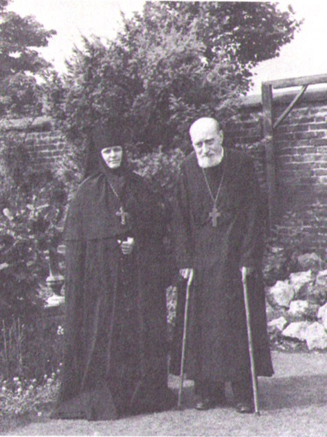 Abbess Elizabeth and Archpriest George Sheremetev
