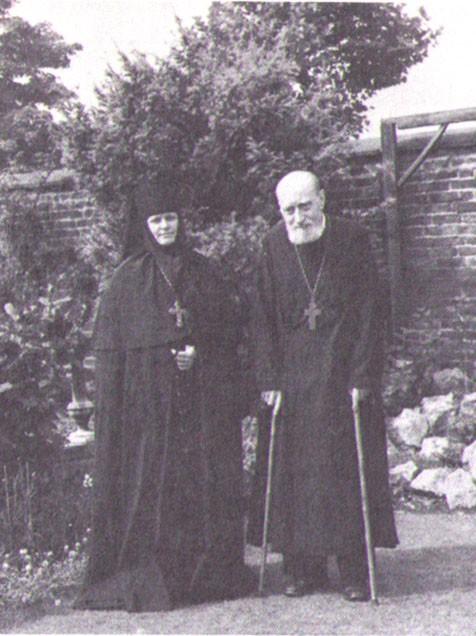 Игуменья Елисавета и протоиерей Георгий Шереметев