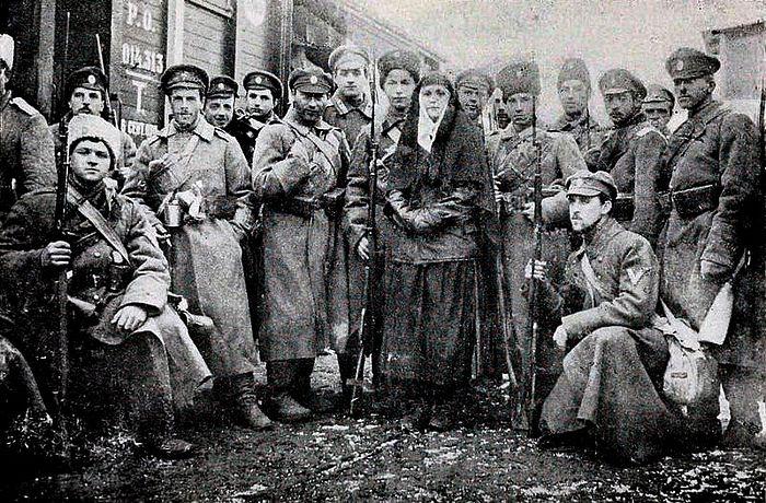 Добровольческая белая армия