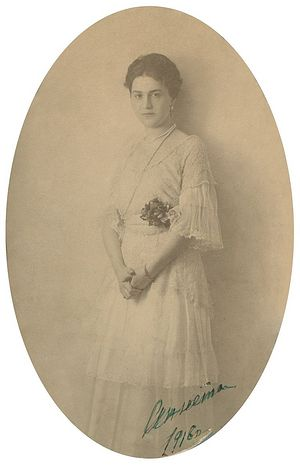 Grandmother Anna Ilyinichna Vorontsova-Dashkova