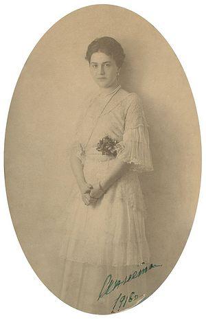 Grandmother Anna Ilyinichna Vorontsova-Dashkova