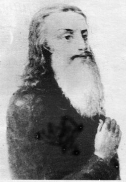 A portrait of St. Paul of Taganrog made during his lifetime