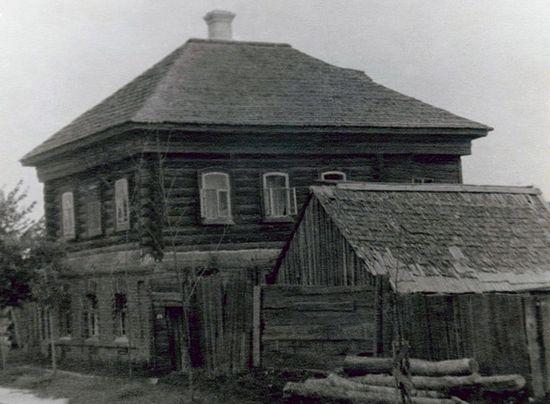 Дом, в котором жил иеромонах Рафаил (Шейченко). Козельск. Изображение с сайта optina.ru