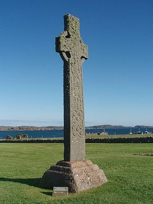Крест св. Мартина на Ионе (источник - Wikimedia.org)