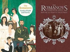 Two new books from Holy Trinity Publications mark the centennial of the Romanovs' martyrdom