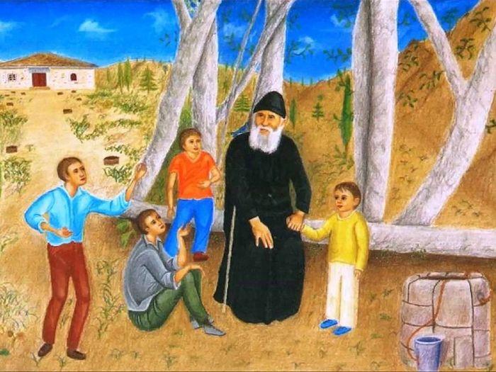 Старец Паисий Святогорец и дети