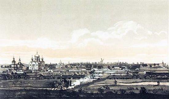 Дивеево, 1876 год. Изображение с сайта sarpust.ru