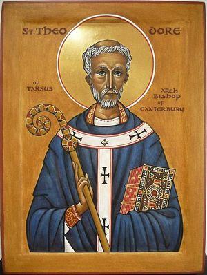 Святитель Феодор Тарсийский, архиепископ Кентерберийский