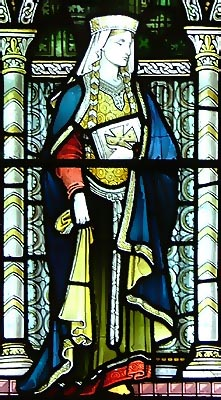 Св. Берта, королева Кента