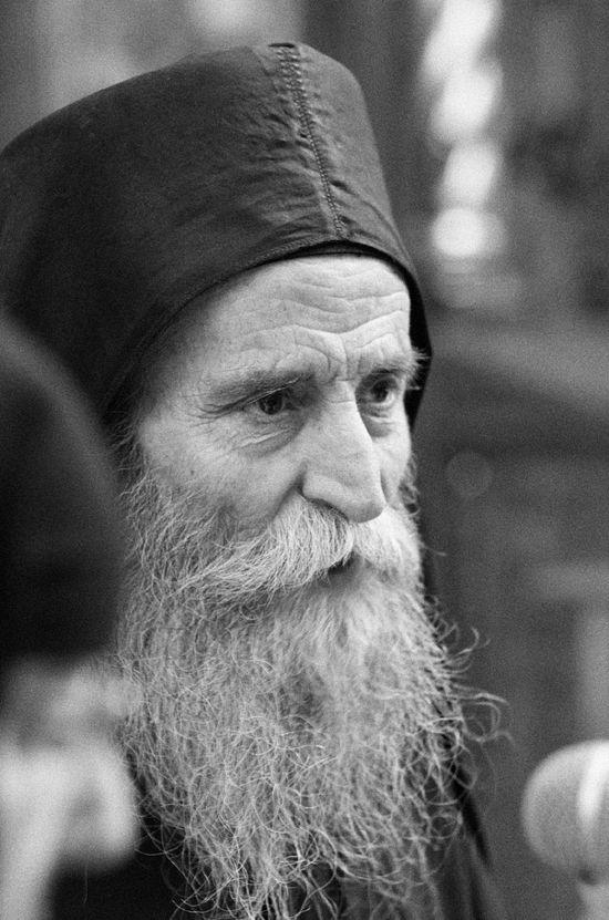 Синайский старец Павлос в Сан-Франциско Фото протоиерея Петра Перекрестова