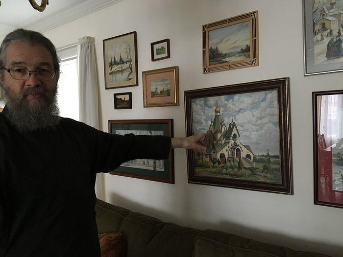 Картина - подарок брата Иосифа Муньоса