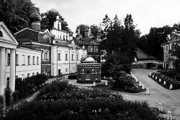 Успенский Псково-Печерский монастырь. Лето 1970 года