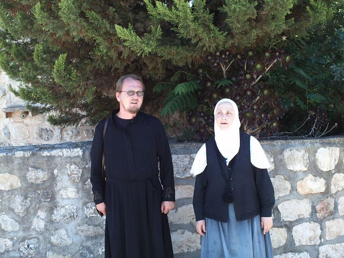 Диакон Александр Занемонец и монахиня Силуана (Гуляева)