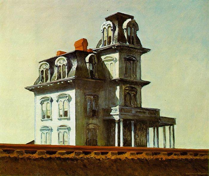 «Дом у железной дороги». Эдвард Хоппер