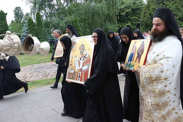 The glorification of the holy new martyrs in Belgrade