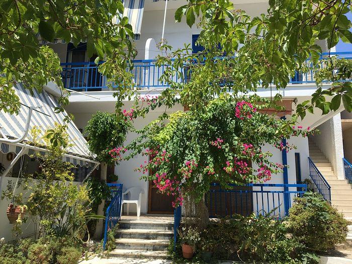 Маленький семейный отель в Агиа Марине