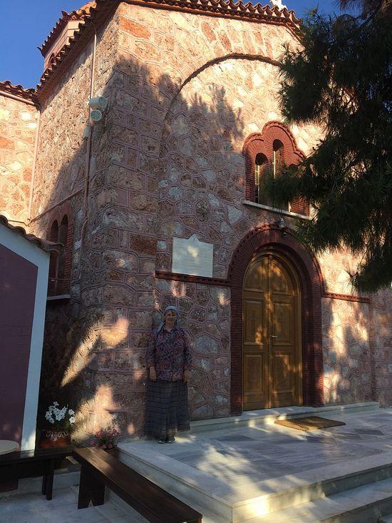 В монастыре святого Мины