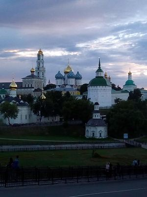 At the Holy Trinity – St. Sergius Lavra