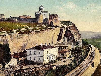 Вышел в свет фильм о Свято-Климентовском Инкерманском пещерном монастыре в Крыму