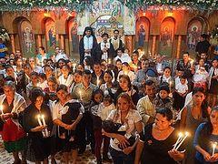 20 children baptized in Guatemalan village
