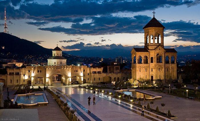 Holy Trinity Cathedral, Tbilisi. Photo: inyourpocket.com