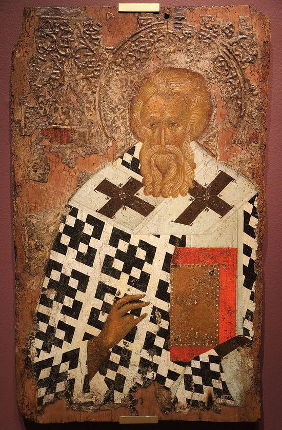 Святитель Мефодий, Патриарх Константинопольский (?) Середина XIII века (?), XIV век