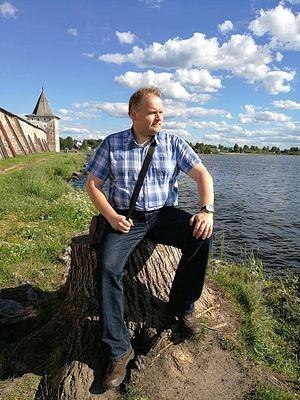 Родион Денисов, главред эстонского портала Tribuna.ee