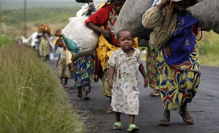 Refugees from Congo