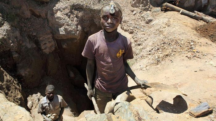 Cobalt production in Congo