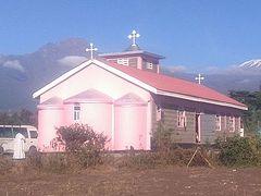 Orthodox church consecrated at base of Mt. Kilimanjaro