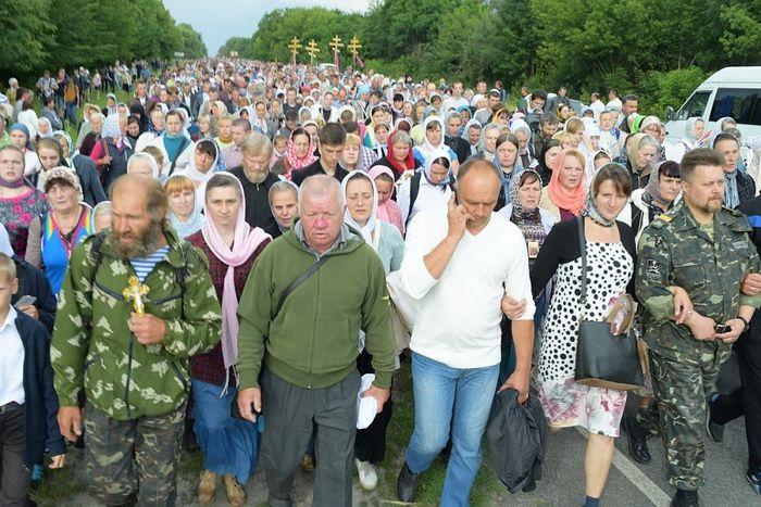 Всеукраинский крестный ход. Фото: Сергей Рыжков