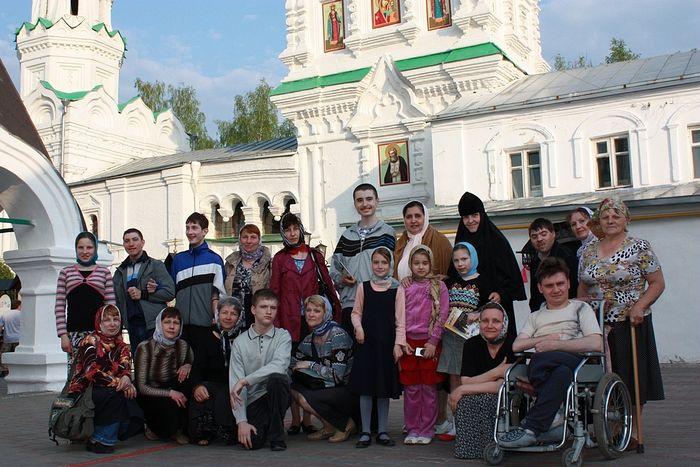 Воскресная школа в паломнической поездке