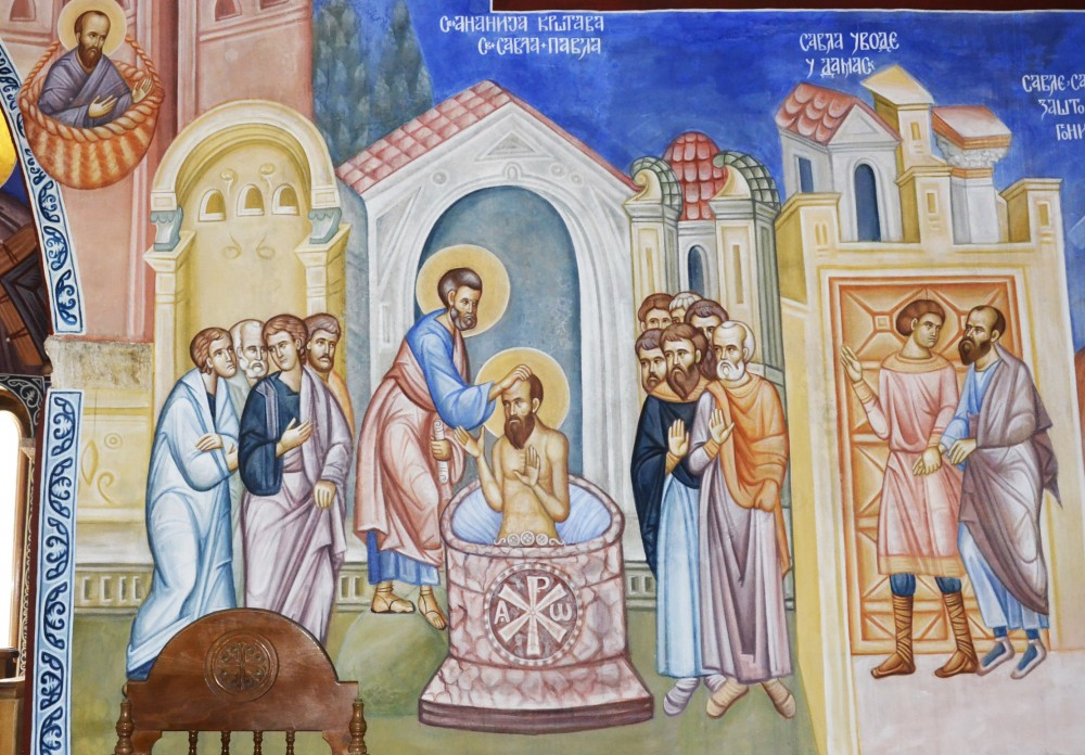 Scenes from the life of the apostle Paul
