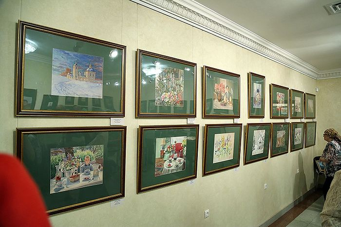 An exhibition of watercolors by Grand Duchess Olga Alexandrovna. Photo: orthodox-newspaper.ru