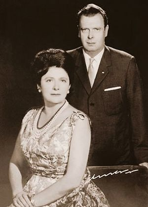 Владимир Кириллович и Леонида Георгиевна