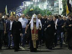 100 тысяч человек приняли участие в Царском крестном ходе