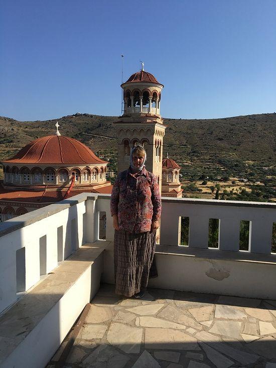 В монастыре Святителя Нектария Эгинского