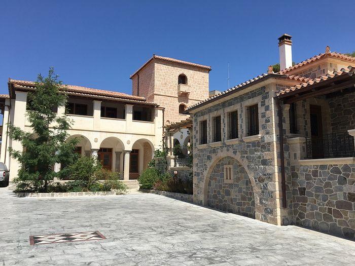 В монастыре Святителя Нектария