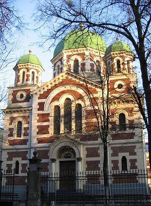 Единственный храм - церковь Георгия Победоносца - во Львове, не захваченный раскольниками