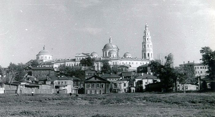 The Convent of the Mother of God at Kazan in 1930. By Frank W. Fetter, USA