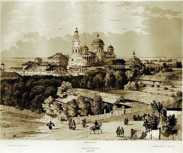 The Theotokos Monastery of Kazan
