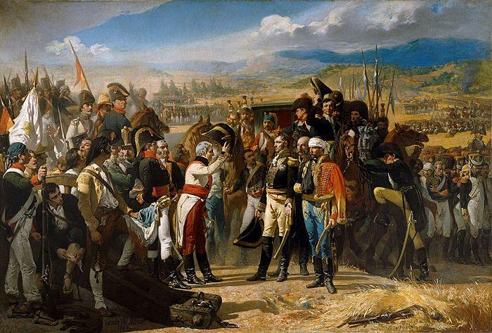 Байленская капитуляция 1808 г. Картина испанского художника Хосе-Касадо дель Алисаля (1864)