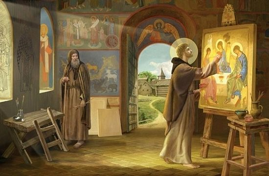 Andrei Rublev—the most famous Russian iconographer
