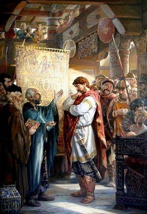 Алексей Филатов. Выбор веры князем Владимиром. 2007 г.