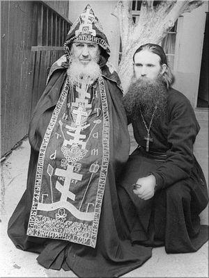 С о. Андроником (Лукаш) в Тбилиси
