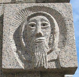 Скульптура св. Гелерия в г. Сент-Хелиер, о. Джерси, Нормандские острова