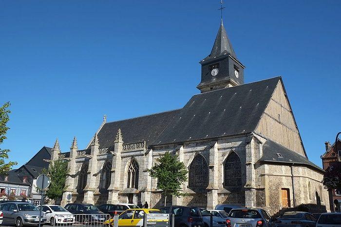 Церковь св. Гелерия в Бёзвиле, Нормандия