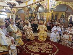 Celebrations on the 20th Anniversary of the Enthronement of the Metropolitans of the Albanian Orthodox Church