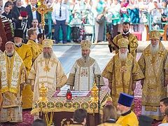 VIDEOS: Celebration of the 1,030th Anniversary of the Baptism of Rus' in Kiev and Moscow